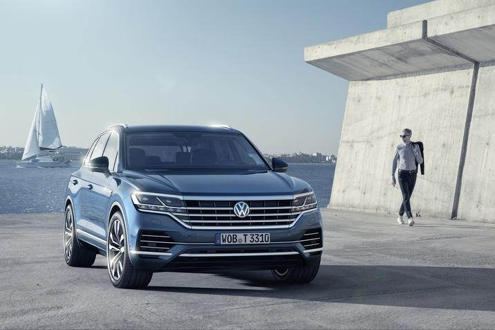 Новият Volkswagen Touareg